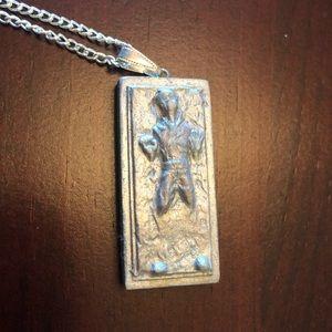 Star Wars Han Solo in Carbonite Necklace
